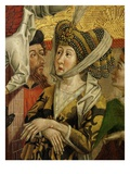 Empress of Alexandria (Wife of Maximinus)  from Altarpiece of Saint Catherine  1480 (Panel Detail)