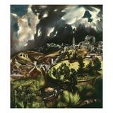 View of Toledo  Spain  1595-1610