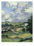 Paysage  Vétheuil  Landscape in Vétheuil  France  1879  Detail