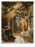 The Annunciation  1577-80