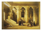 Temple of Esna  2nd Century Bc  Left Bank of the Nile  Egypt  Lithograph  1838-9
