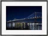 The Bay Lights - San Francisco Bay Bridge  Photograph by James Ewing