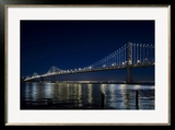 The Bay Lights - San Francisco Bay Bridge  Photograph by James Ewing