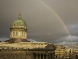 Cathedral of Our Lady of Kazan  on the Nevsky Prospekt