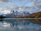 Los Cuernos Del Paine Seen across Lake Pehoe