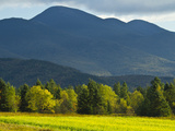The Adirondack Mountains Near Lake Placid