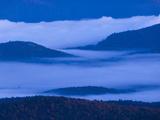 The Adirondack Mountains at Dawn from Atop Cascade Mountain