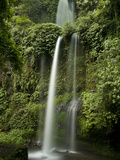 A Waterfall in Mount Rinjani National Park