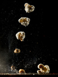 Multiple Exposure of a Single Popping Popcorn
