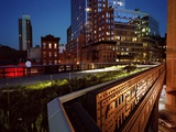 One of Many Apartment Houses Newly Constructed Along the High Line