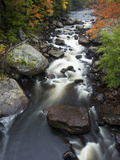 The Fast Moving West Branch of the Ausable River
