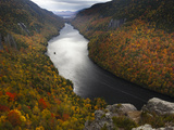 Overlooking Lower Ausable Lake from Indian Head