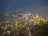 Gangtey Monastery in Phobjika Valley