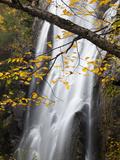 Rainbow Falls in the Saint Huberts Region of the Adirondacks