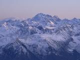 The Wetterstein Range Seen from Germany's Highest Mountain  Zugspitze