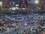 A Ratha Yatra Religious Festival in Temple Town of Puri