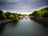 A Bridge over the Seine River