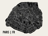Paris Reproduction d'art par Mr City Printing