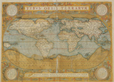 Mappa Del Mondo - Antique Style World Map Poster