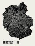 Bruxelles Reproduction d'art par Mr City Printing