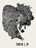 Tokyo Reproduction d'art par Mr City Printing