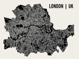 Londres Reproduction d'art par Mr City Printing