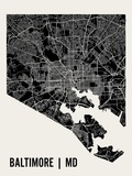 Baltimore Reproduction d'art par Mr City Printing