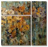 Amber Poppy Field II Tableau multi toiles par Tim O'toole