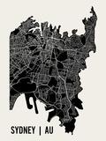 Sydney Reproduction d'art par Mr City Printing