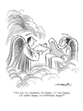 """""""Are you - New Yorker Cartoon"""