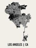 Los Angeles Reproduction d'art par Mr City Printing
