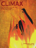 Climax (Fahrenheit 451) - Element of a Novel Reproduction d'art par Christopher Rice