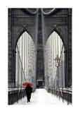 Brooklyn Bridge Meets Red