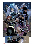 Uncanny X-Men 538: Psylocke  Storm  Hope Summers  Angel  Iceman  and Namor