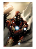 Invincible Iron Man No33 Cover: Iron Man Standing