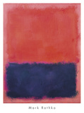 Untitled, 1960-61 Reproduction d'art par Mark Rothko