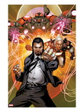 Invincible Iron Man 511 Cover: Mandarin Posing