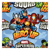 Marvel Super Hero Squad: Hero Up! Thor  Captain America  Iron Man  Wolverine  Wasp  and Ant-Man