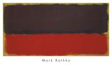No. 13, 1951 Reproduction d'art par Mark Rothko