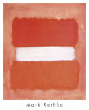 White Center, 1957 Reproduction d'art par Mark Rothko