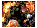 Ultimate Spider-Man 159: Green Goblin Flaming