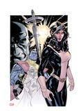 Uncanny X-Men 535 Cover: Kitty Pryde  Colossus  Wolverine  and Emma Frost