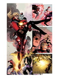 Avengers: The Childrens Crusade 5: Panels with Iron Lad and Stature