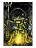Thor: First Thunder No2 Cover: Loki Sitting
