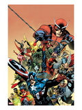 I am an Avenger 1 Cover: Captain America  Thor  Wolverine  Hulk  Ant-Man  Vision  and Iron Man