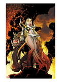New Mutants Forever No4 Cover: Magik Posing