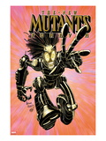New Mutants Forever 2 Cover: Warlock Charging