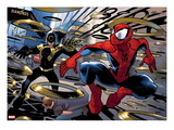 Ultimate Spider-Man 150: Spider-Man Jumping