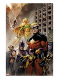 Chaos War: Dead Avengers 1 Cover: Captain Marvel  Yellowjacket  Swordman  Vision  Deathcry  and Do