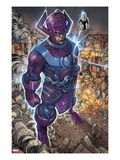 Chaos War 2: Galactus and Silver Surfer Standing